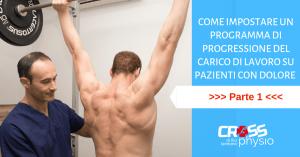 Come impostare un Programma di Progressione del carico di lavoro su pazienti con dolore [PARTE 1]
