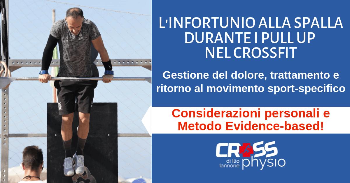 L'infortunio alla spalla durante il Pull Up nel Crossfit: gestione del dolore, trattamento e ritorno al movimento sport-specifico