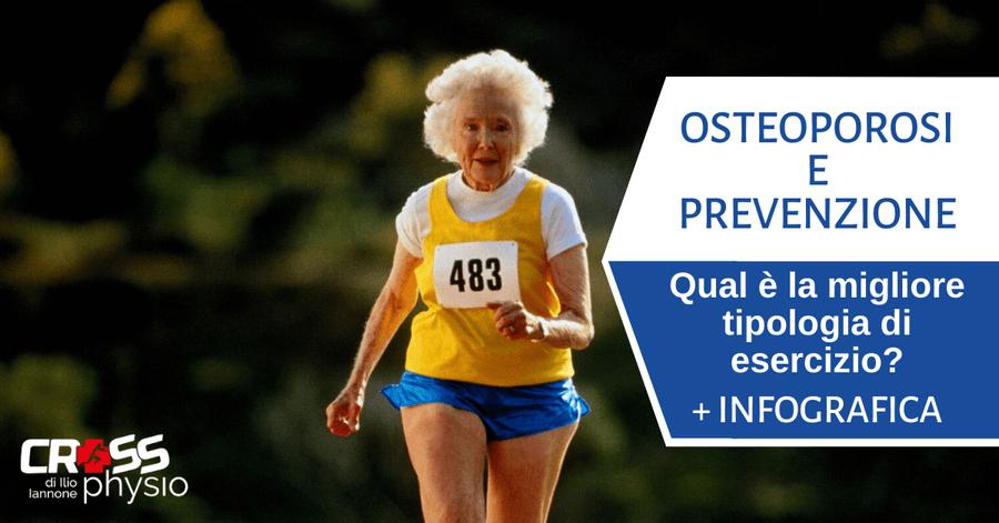 Osteoporosi e prevenzione: quale tipologia di esercizio è la migliore? [+ INFOGRAFICA]