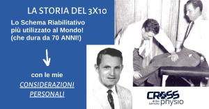 Storia e considerazioni personali del 3×10: lo Schema Riabilitativo che dura da 70 anni!