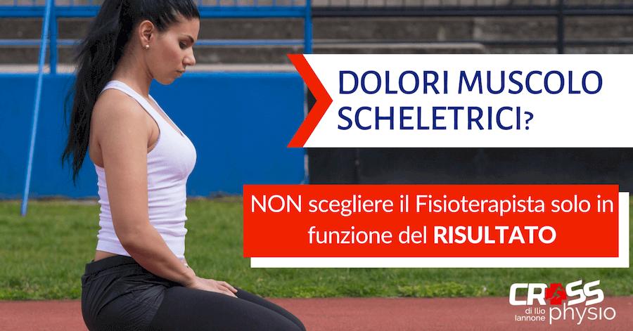 Dolori muscoloscheletrici: concentrati su di te, non sul risultato!
